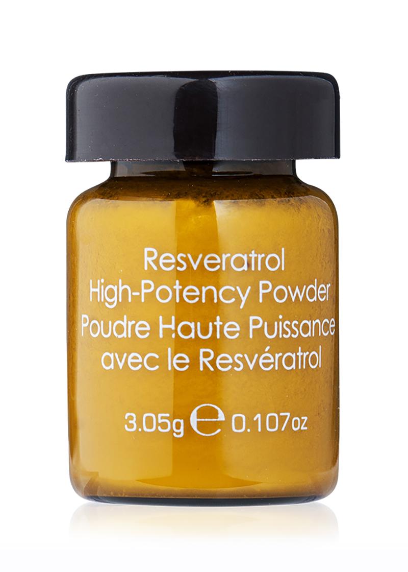 back view of high potency powder
