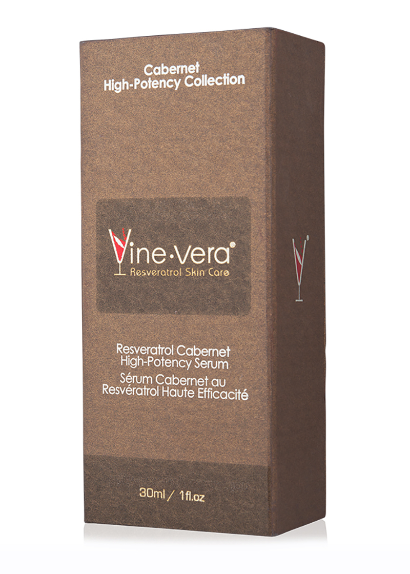 cabernet high potency serum in case