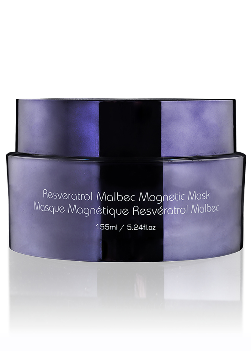 Backview of Resveratrol Malbec Magnetic Mask