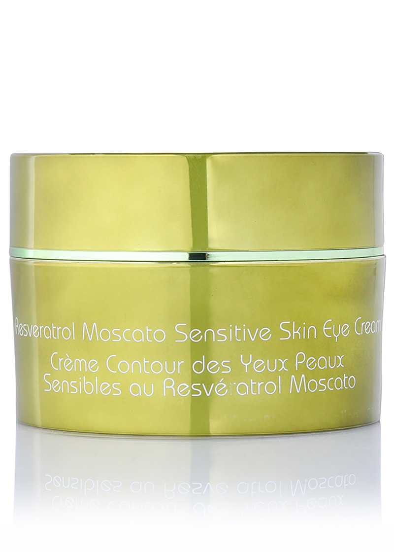 back view of Moscato Sensitive Skin Eye Cream