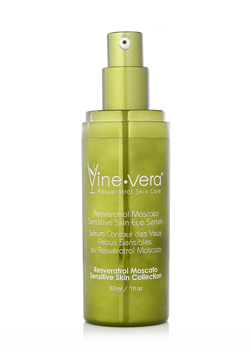 Resveratrol Moscato Sensitive Skin Eye Serum without lid